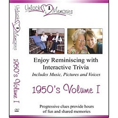 Unlock the Memories DVD, Volume 1 1950s