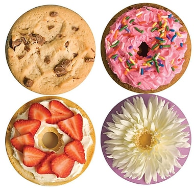 ... Thera Jigsaw Foam Puzzles Set C, Cookie/Bagel/Flower/Donut | Staples