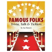 S&S® Famous Folks Trivia, Talk and Ticklers Book