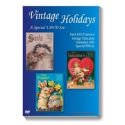 S&S® Vintage Holidays DVD Set, 3/Pack