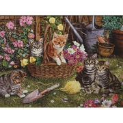 "Outset Media® 24"" X 18"" Easy Handling Puzzle, Kittens"
