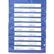 "S&S® 52"" X 34"" Pocket Chart"