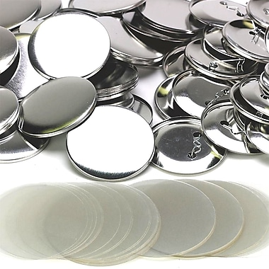 S&S® Replacement Button Parts With Mylar, 100/Pack