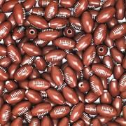 S&S® Football Beads Bag, 600/Bag