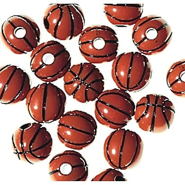 S&S® Basketball Beads Bag, 600/Bag