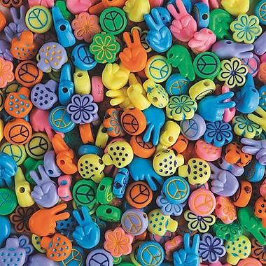 S&S® Retro Love Beads Bag, 250/Bag