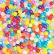 S&S® Colorful Resin Cat's Eye Beads Bag, 450 Pieces/Bag