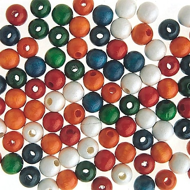 S&S® Wooden Beads Assortment Bag, 1000/Bag
