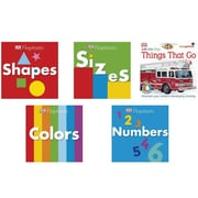 S&S® BK1660 Beginning Concepts Board Book Set, 5/Set