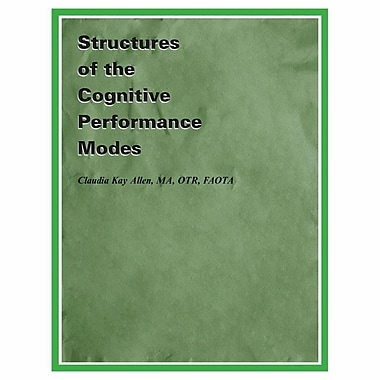 Claudia Allen Structures of Cognitive Performance Modes Book