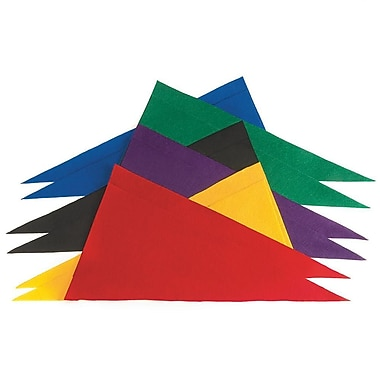S&S FA3372 Assorted Felt Banners, 12/Pack