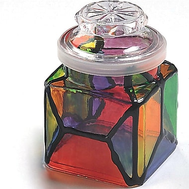 Geeperz™ Stained Glass Apothecary Jars Craft Kit, 12/Pack