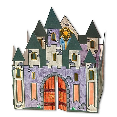 Geeperz™ 3D Velvet Castle Craft Kit, 12/Pack