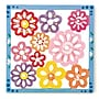 Geeperz™ Floral Wood Trivet Craft Kit, 12/Pack