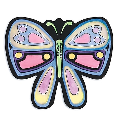Geeperz™ Velvet Butterfly Sun Catchers Craft Kit, 12/Pack