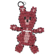 Geeperz™ Fuzzy Beaded Bears Craft Kit, 12/Pack