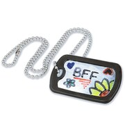 Geeperz™ Dog Tag Necklaces Craft Kit, 40/Pack