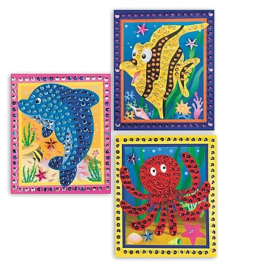 Geeperz™ Dolphin, Fish and Octopus Craft Kit, 12/Pack