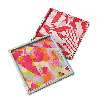 Geeperz™ Colorlite Trivet Craft Kit, 12/Pack