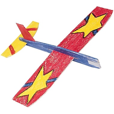 Educraft® Cloud Climbers Wooden Toy Airplane Craft Kit, 36/Pack