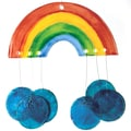 S&S® Musical Rainbows Wind Chime Craft Kit, 16/Pack