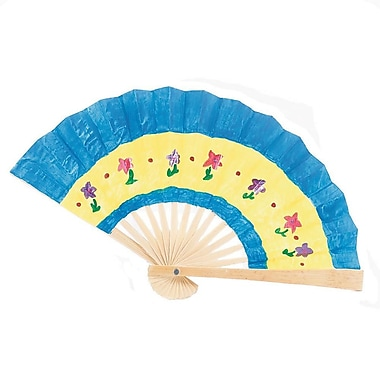 S&S® Geeperz™ Fantastic Fans Craft Kit, 24/Pack