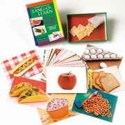 S&S® Food Lang-O-Learn Cards
