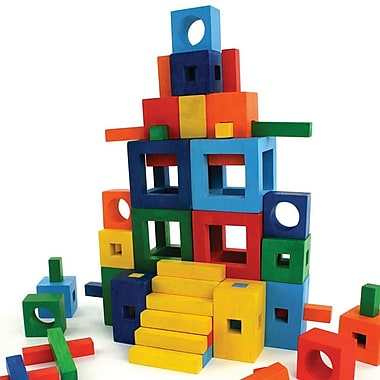 Fat Brain® Toy Twig Building Block Set, 72/Set