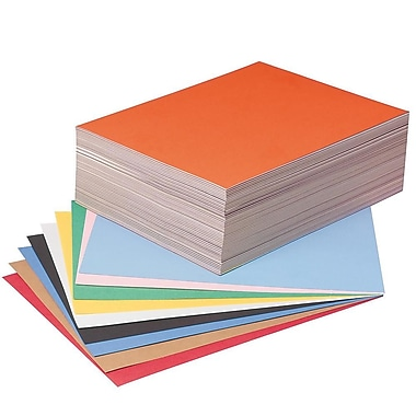 Pacon® Tru-Ray® Sulphite Construction Paper, 9in. X 12in., 500/Pack
