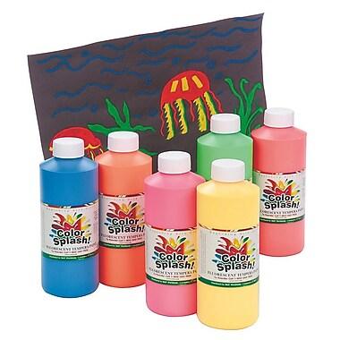 Color Splash® 16 oz. Fluorescent Liquid Tempera Paint