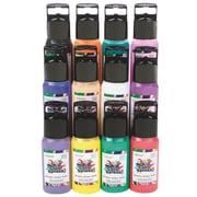 Color Splash PT3322 Window Cling Paint, 2 oz. 12/Pack
