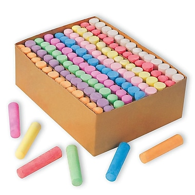 Color Splash® Giant BoX of Sidewalk Chalk, 126/BoX