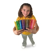 Color Splash Conical Point Broad Line Marker, Assorted, 256/Pack