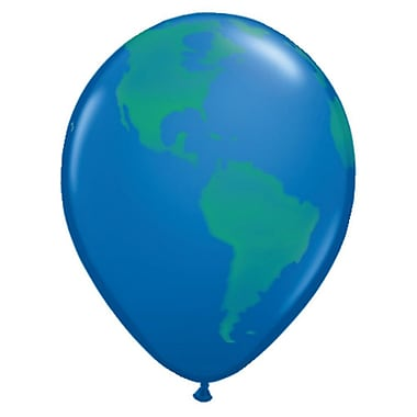 Pioneer® Earth Balloon Pack, 50/Pack