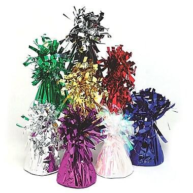 S&S® Balloon Weight, Metallic Purple, 12/Pack