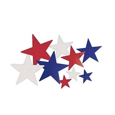 S&S® Liberty Star Cutouts, 6/Pack