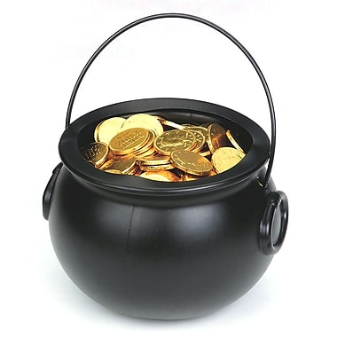 Foil Wrapped Chocolate Coins Stock Image - Image: 6892941