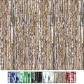 S&S® 8' X 3' Metallic Party Curtains, Red