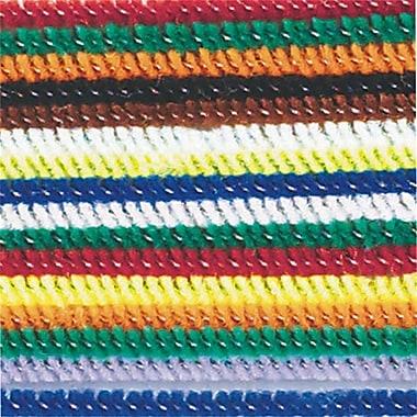 S&S TR250 Multicolor Chenille Assortment, 1000/Pack