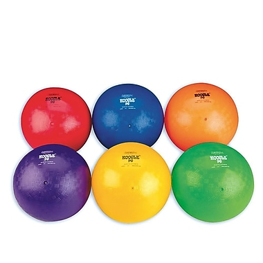 Spectrum™ Koogle™ PG Playground Ball Set, 8 - 8 1/2in.(Dia.), Assorted, 6/Set