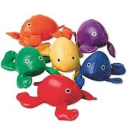 Spectrum™ 5 3/4 X 4 1/4 Frog Bean Bags, 6/Set
