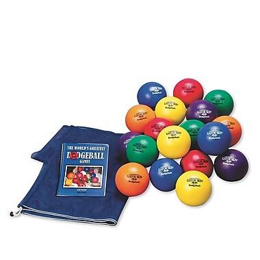 Gator Skin® Elementary School Dodgeball Easy Pack, 6