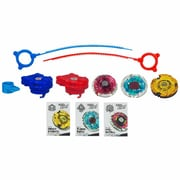 Hasbro Beyblade 3-Metal Fire Team and Water Team Pack