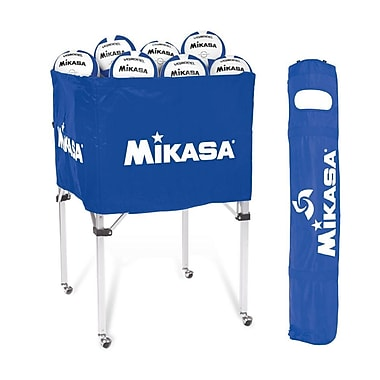 Mikasa® Volleyball Cart, Royal Blue