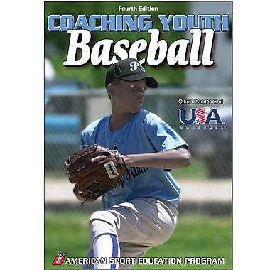 Human Kinetics 4th Edition Coaching Youth Sports Book Baseball