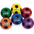 Spectrum™ Rubber Soccer Ball Set, Size 4, Assorted, 6/Set