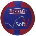 Tachikara® Soft-V™ Training Volleyball, 25.6 - 26.4in., Scarlet/White/Royal