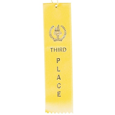 Image Awards Yellow Third Place Award Ribbon