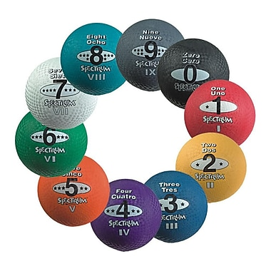 S&S® Spectrum™ 5-in-1 Playground Balls, 8 1/2