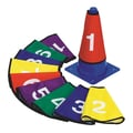 S&S® 4in. X 9in. Numbered Cone Cover, 10/Set